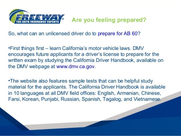 AB 60 California Drivers License: What You Need to Know