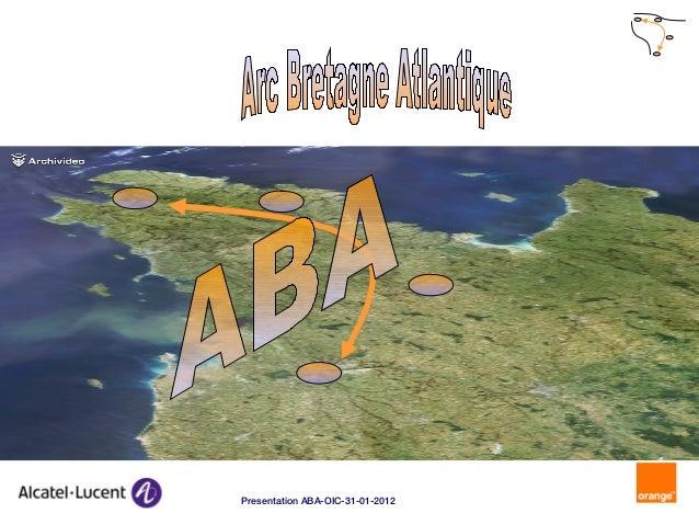1 Presentation ABA-OIC-31-01-2012