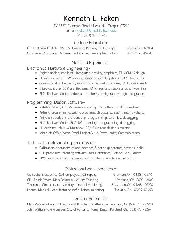 EET v4 Resume