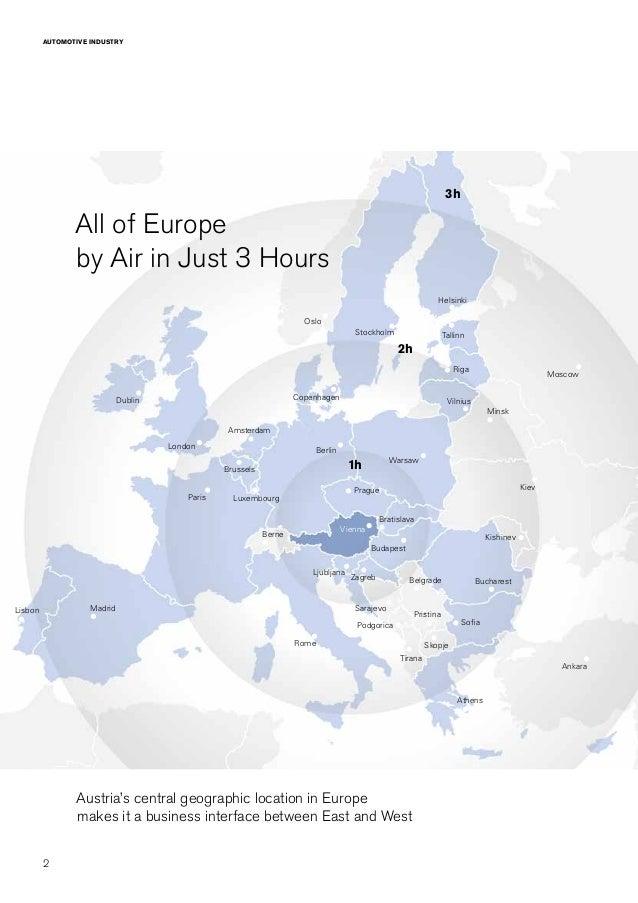 ABA Automotive Sector In Austria - Austria location in europe