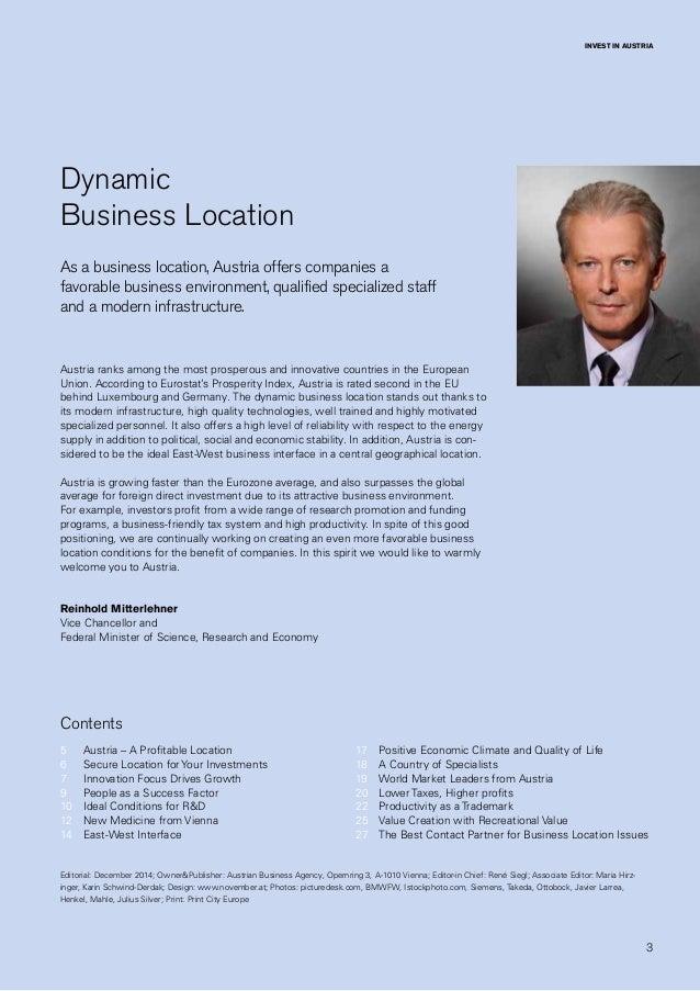 ABA Business Location Austria Slide 3