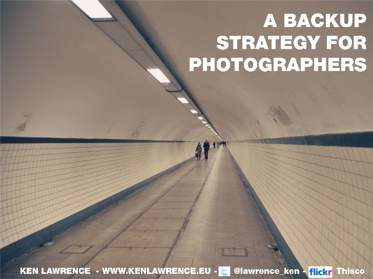 A backup strategy for photographers