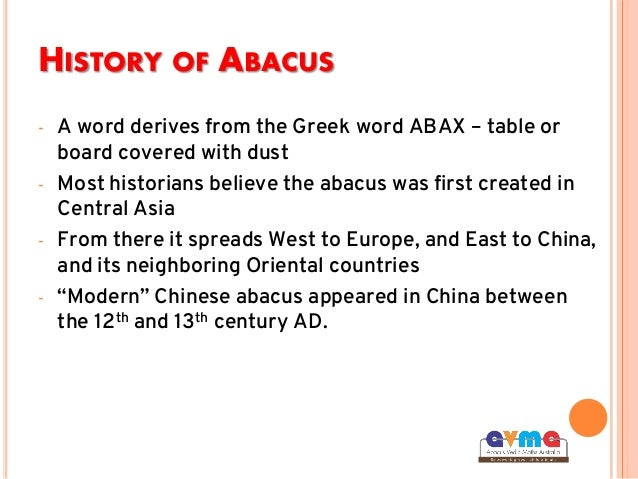 abacus history Short easy lessons paced for younger viewers that teach addition and subtraction on a traditional abacus or soroban history help about press.