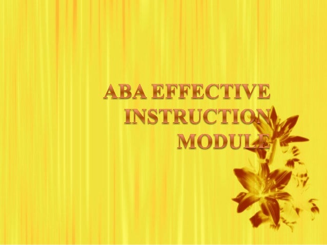 Overview ABA Jeopardy Objectives Techniques Video Modeling Competency -Assessment
