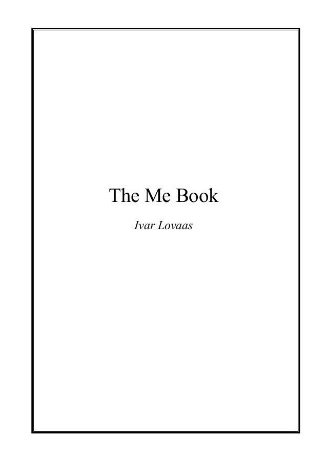 The Me BookIvar Lovaas