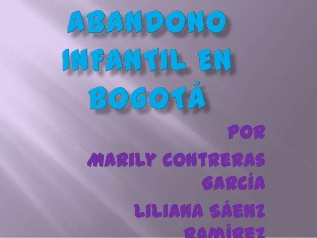 PorMarily ContrerasGarcíaLiliana Sáenz