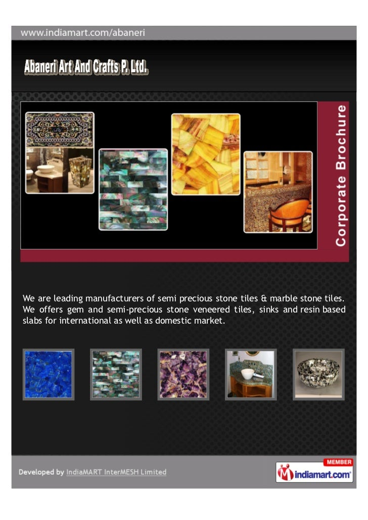 We are leading manufacturers of semi precious stone tiles & marble stone tiles.We offers gem and semi-precious stone venee...
