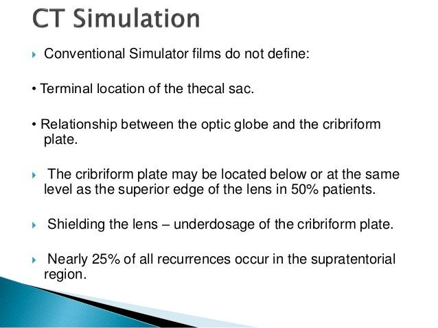 Single isocentre for 2 lateral cranial fields and one upper spinal field.