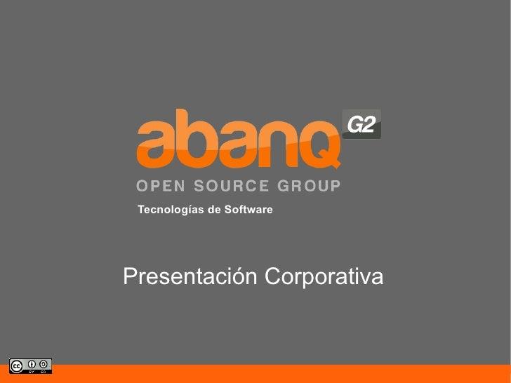 AbanQ G2 Presentación