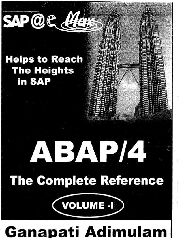 sap abap 4 black book pdf free download