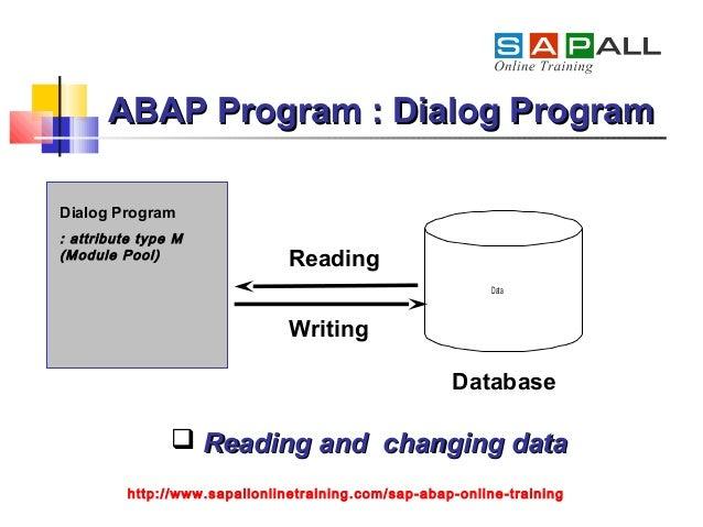 SAP ABAP Training Program