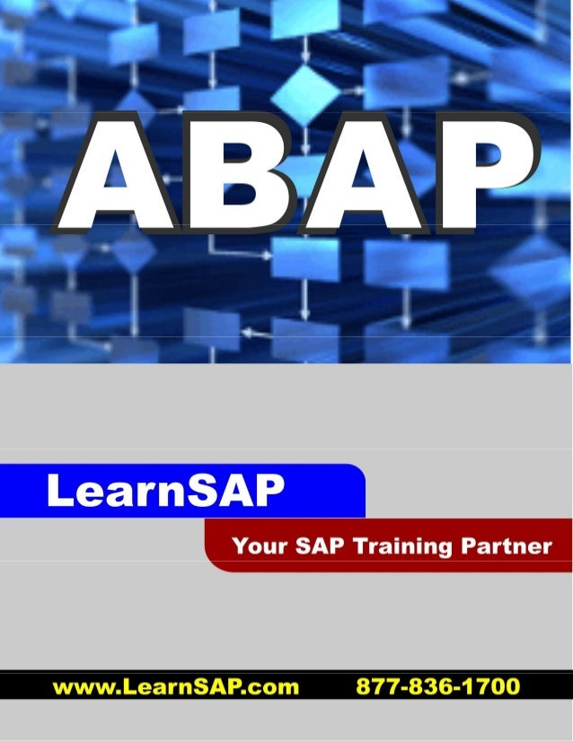 sap abap advanced cookbook Full of illustrations, diagrams, and tips with clear step-by-step instructions and real time examples get to grips with solving complicated problems using regular expressions in abap.