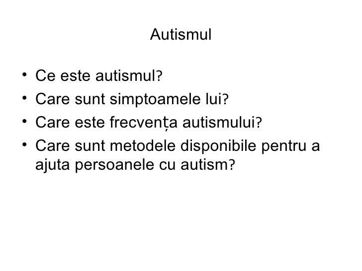 Aba romana autism Slide 2