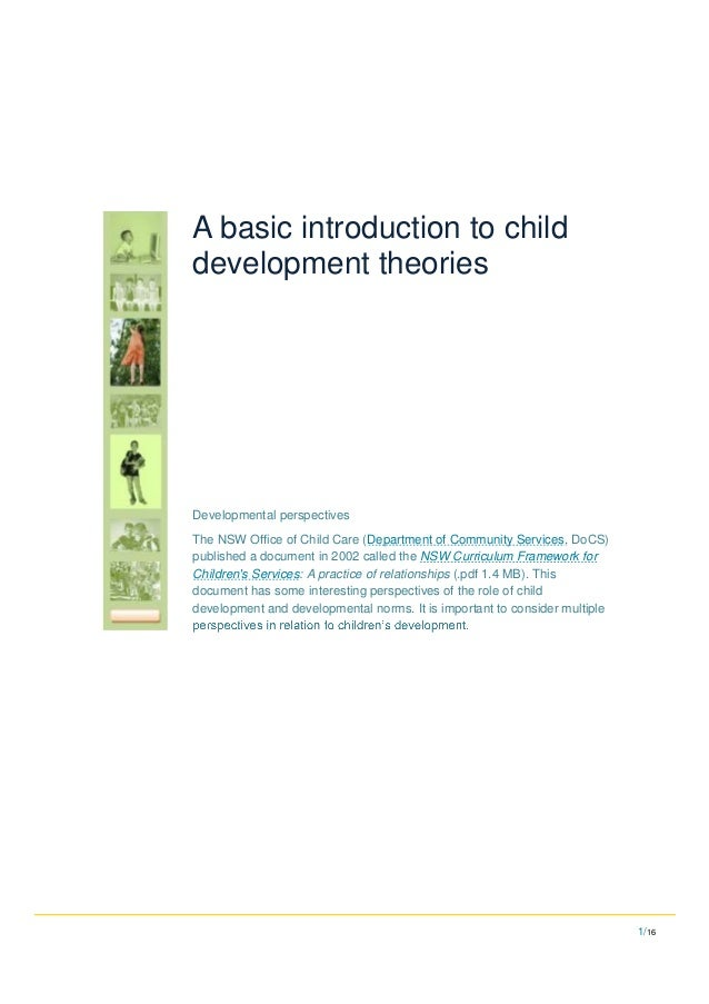 child development coursework introduction The purpose of this lesson is to serve as an introduction to the course child development begin powerpoint™ introductory lesson: child development.