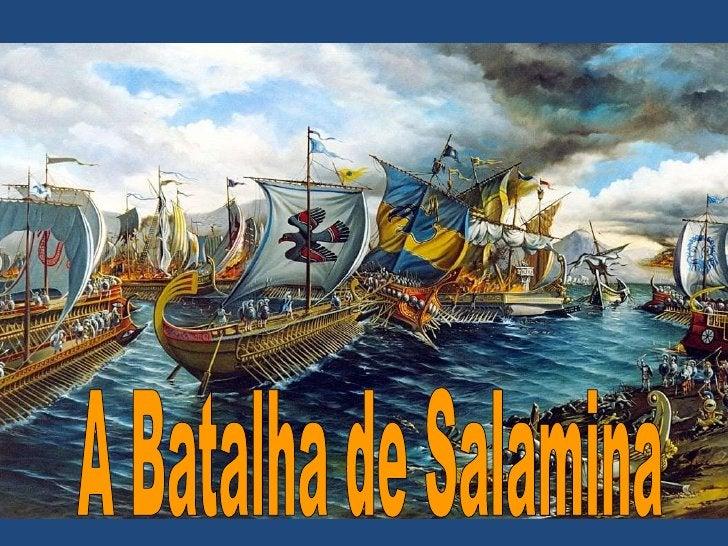 A Batalha de Salamina<br />