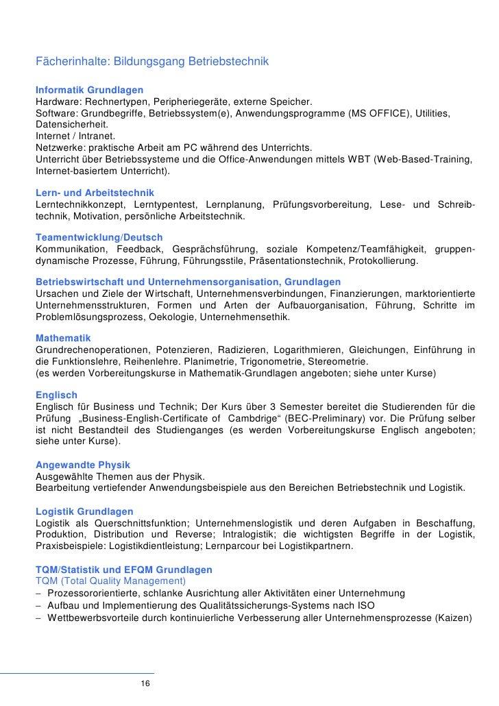 ABB Technikerschule Baden