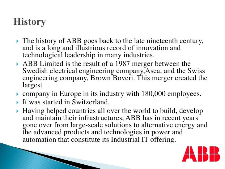 Asea Brown Boveri Case Solution And Analysis, HBR Case ...