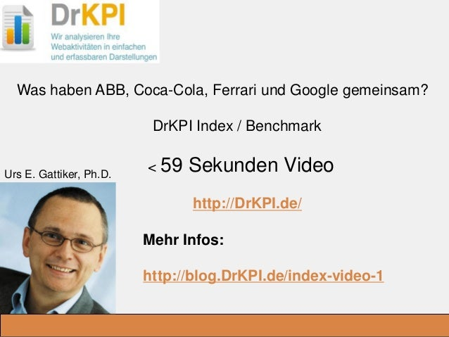DrKPI.de _Ausbildungsplätze: Was haben ABB, Coca-Cola, Ferrari und Google gemeinsam? DrKPI Index / Benchmark < 59 Sekunden...