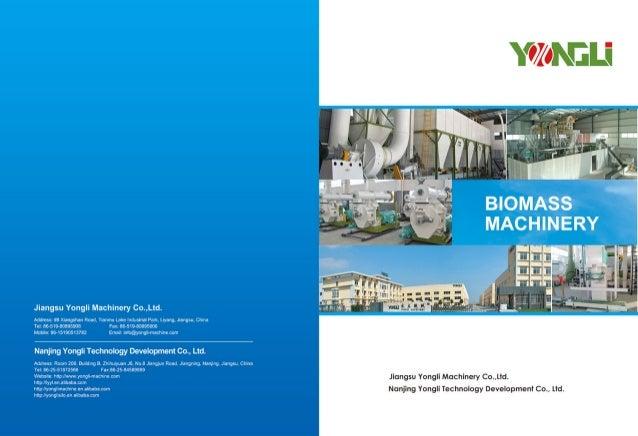 YONGLI Biomass Catalogue