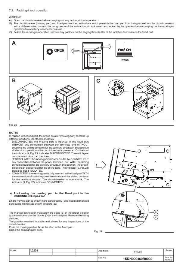 sace pr122 p lsig manual