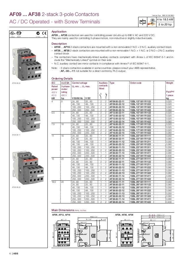 abb af09 contactor wiring diagram wiring diagram rh a20 raepoppweiss de