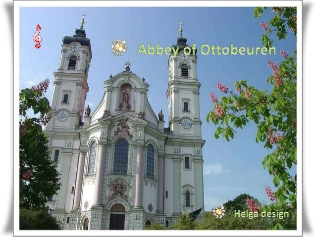 Ottobeuren is a Benedictine abbey, located in Ottobeuren, near Memmingen in the Bavarian Allgäu, Germany.  Round view