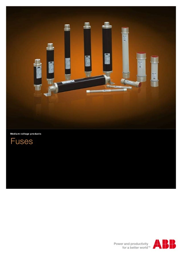 Fuses Medium voltage products