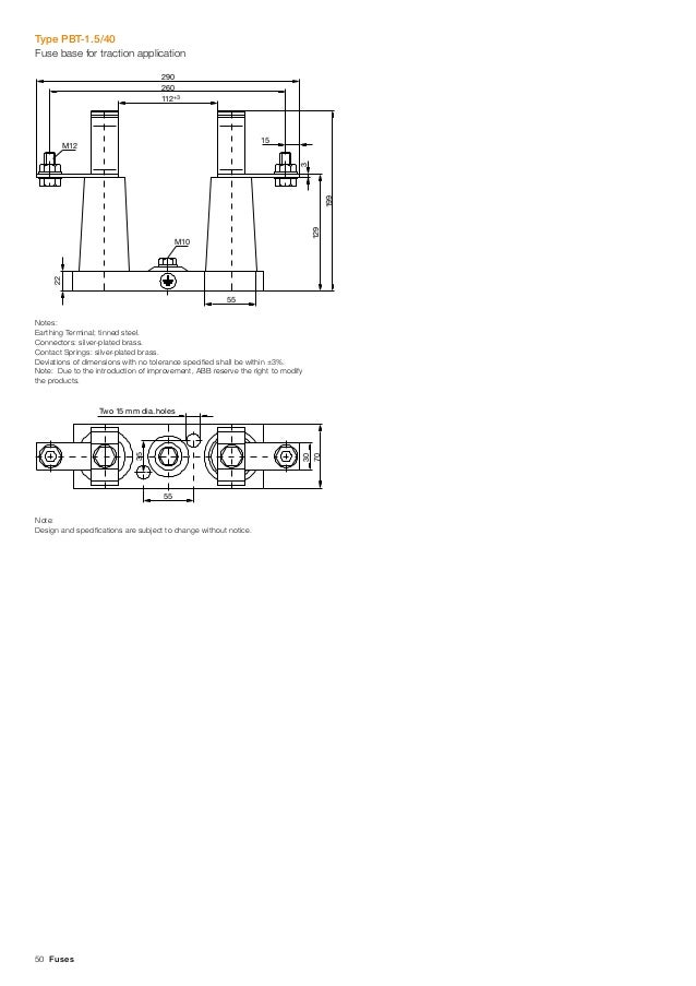 ABB Medium-High Voltage Products - ABB HV Fuses With Temperature Cont…