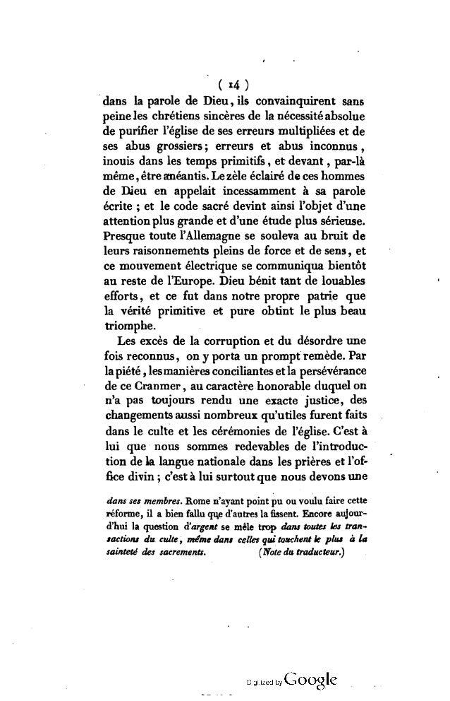 ( i5) traduction plus correcte des saintes Écritures, qui fut répandue dans toutes les paroisses du royaume. Nos ancêtres ...