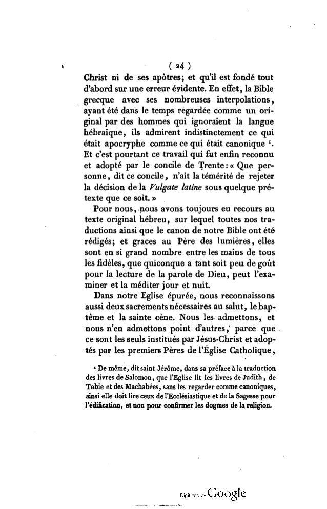 (»5) par S t.Irénée , St. Justin martyr, Tertulien , St. Ambroise, St. Cyrille de Jérusalem , etc. Les autres cérémonies r...
