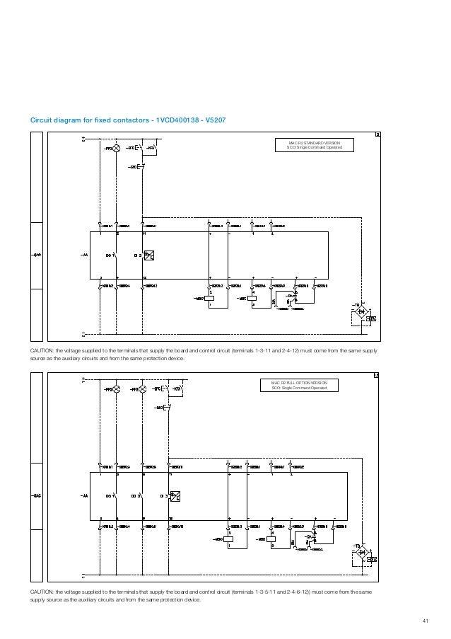 ABB IEC Indoor Vacuum Contactors VSC - Medium Voltage Vacuum Contacto…