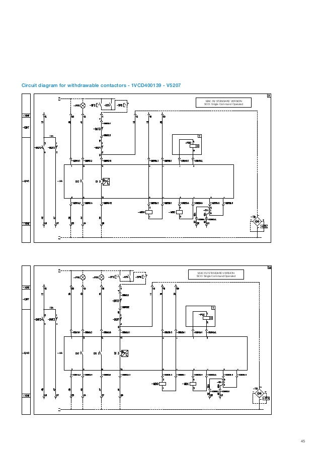 ABB IEC Indoor Vacuum Contactors VSC - Medium Voltage Vacuum ... Abb Low Voltage Motor Wiring Diagram on