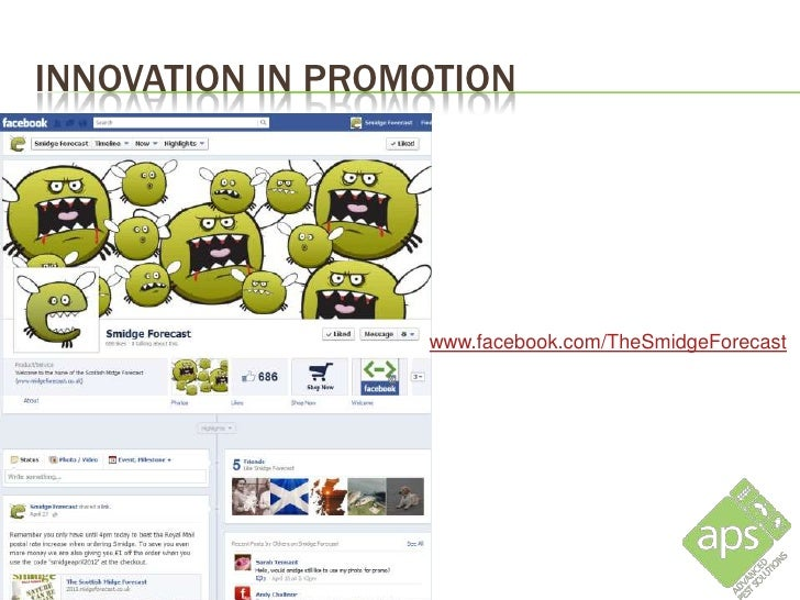 INNOVATION IN PROMOTION                www.twitter.com/midgeforecast