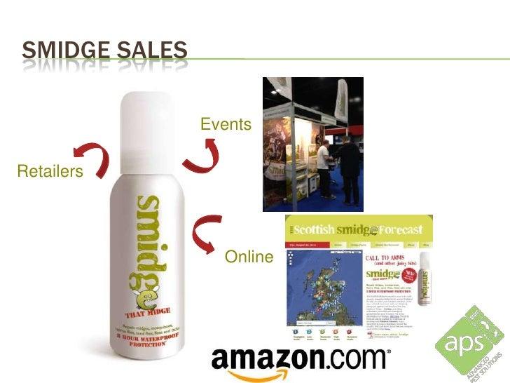 SMIDGE SALES                                  Smidge launched in 46 Scottish Tesco                                        ...