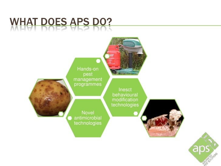 WHAT DOES APS DO?           Hands-on              pest          management          programmes                            ...