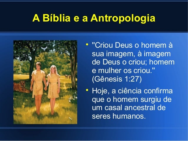 A Bíblia e a Ciência Slide 3