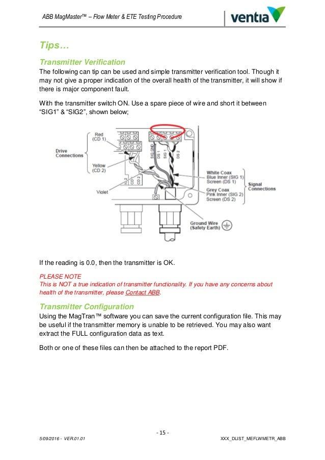 abb magmaster flow meter end to end testing procedure 17 638?cb\=1473823659 flow meter wiring diagram voltage meter wiring diagram \u2022 free abb commander 300 wiring diagram at eliteediting.co
