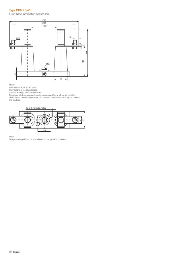 abb cef current limiting fuses 36kv 6 40a high voltage fuse links rh slideshare net