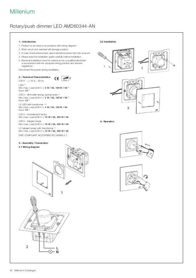 Abb Millenium Catalogue Knx System  Switch  U0026sockets   Info Tech Midd U2026