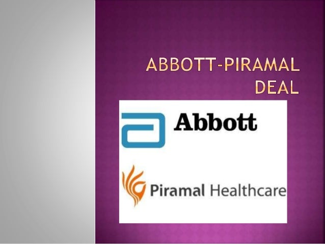 abbott piramal deal Read more about abbott snaps up piramal's formulations biz for $37 bn on business standard second-largest deal in indian pharma space to make the us firm largest player.