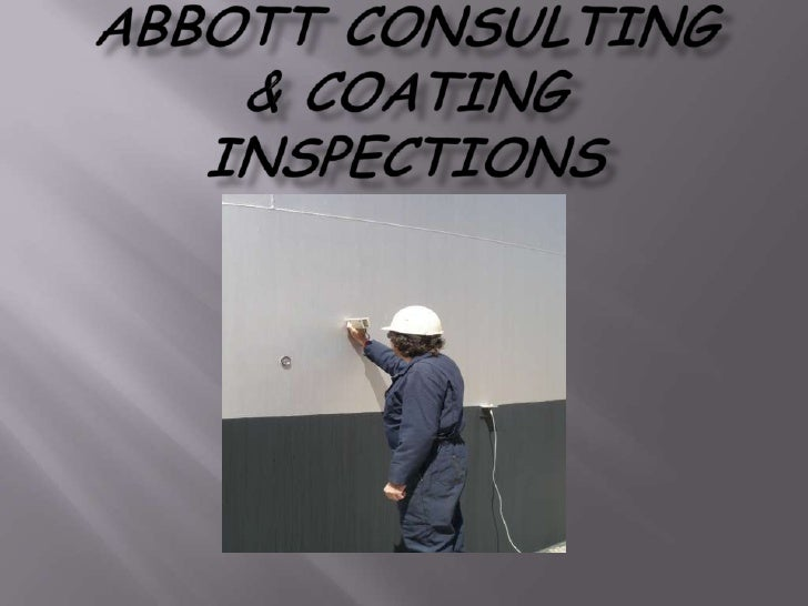 NACE Certified Coating Inspectors perform Third party Coating Inspections. We document each phase of the job, ensuring and...