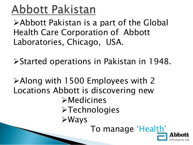To Be A Premier Healthcarecompany In Pakistan