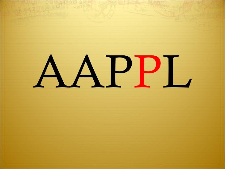 AAP P L