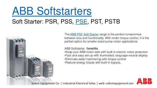 Abb Softstarters Pse  Soft Starters For Abb Pse Motor Control