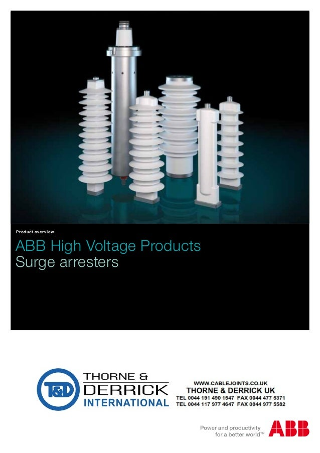 High Voltage Vs Medium Voltage : Abb medium voltage mv surge arresters ac dc