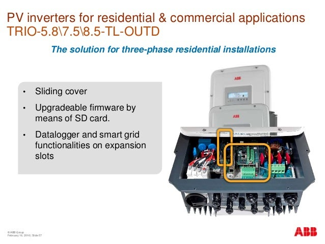 Pvs-100/120-tl three-phase string inverters (abb string inverters).