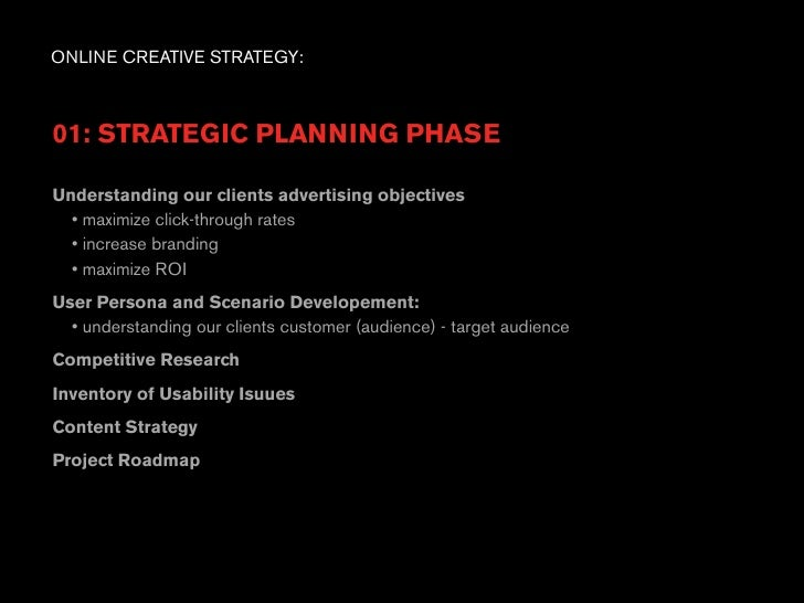 the creative aspects of advertising strategy Start studying mktg 330 final 8 learn  and what he disliked about all these aspects  as the basis for advertising strategy and creative development in the.