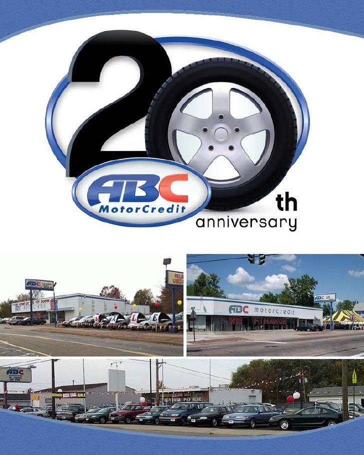 ABC Motor Credit 20th Anniversary OH