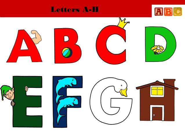 Letters A-H